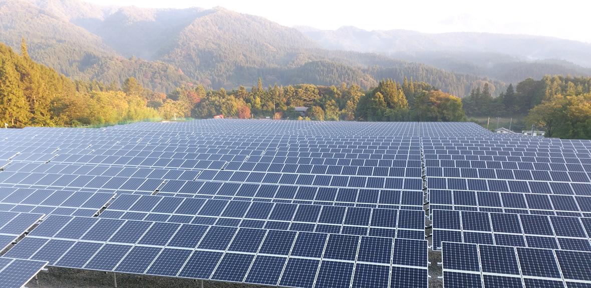 管理している太陽光発電システム